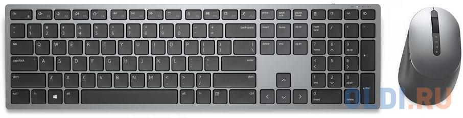 Картинка для Клавиатура + мышь Dell KM7321W клав:серый мышь:серый беспроводная BT slim