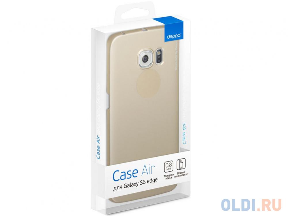 Фото - Чехол Deppa Art Case и защитная пленка для Samsung Galaxy S6 edge, Танки_Арту не видали, чехол pure case и защитная пленка для samsung galaxy s6 edge с защитным нанесением hard coating прозрачный 69012
