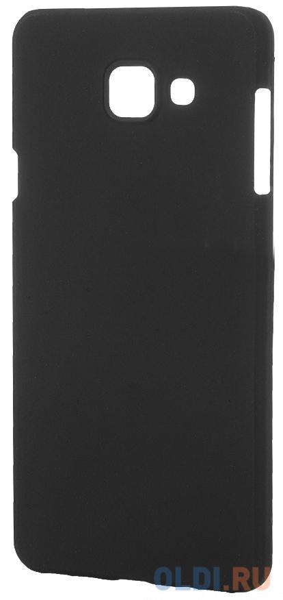 Фото - Чехол-накладка Pulsar CLIPCASE PC Soft-Touch для Samsung Galaxy A7 2016 (черная) ультратонкая защитная накладка soft touch для samsung galaxy a32 с принтом улыбка чеширского кота черная
