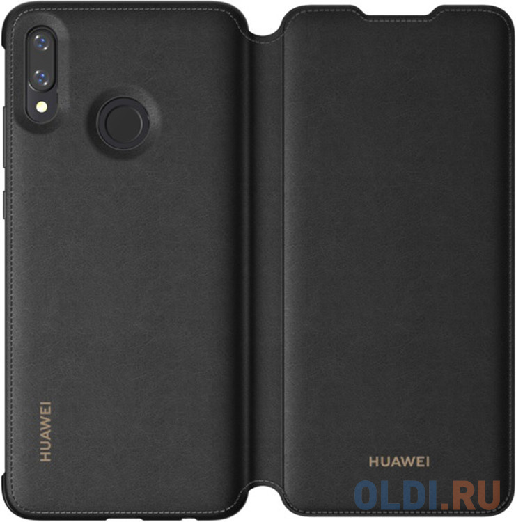 Чехол-книжка для Huawei Psmart 2019 черный Ориг..