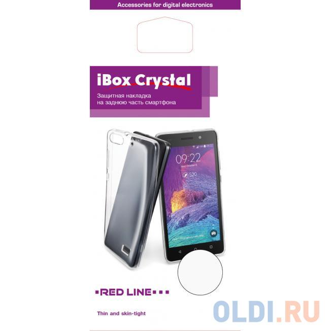 Чехол силикон iBox Crystal для Lenovo A316 (прозрачный)