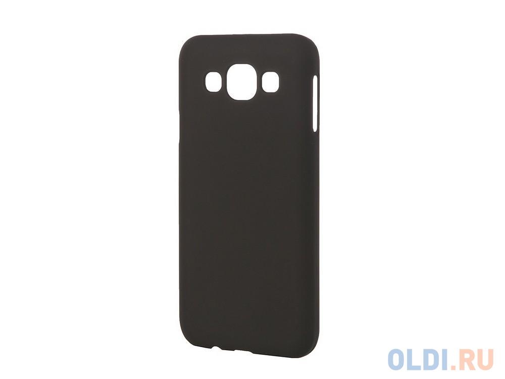 Фото - Чехол-накладка Pulsar CLIPCASE PC Soft-Touch для Samsung Galaxy E5 SM-E500F/DS (черная) РСС0014 ультратонкая защитная накладка soft touch для samsung galaxy a32 с принтом улыбка чеширского кота черная