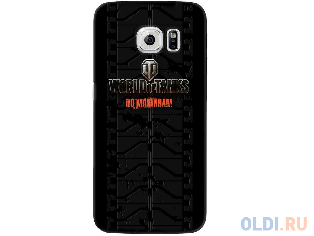 Фото - Чехол Deppa Art Case и защитная пленка для Samsung Galaxy S6 edge, Танки_Протектор, чехол pure case и защитная пленка для samsung galaxy s6 edge с защитным нанесением hard coating прозрачный 69012