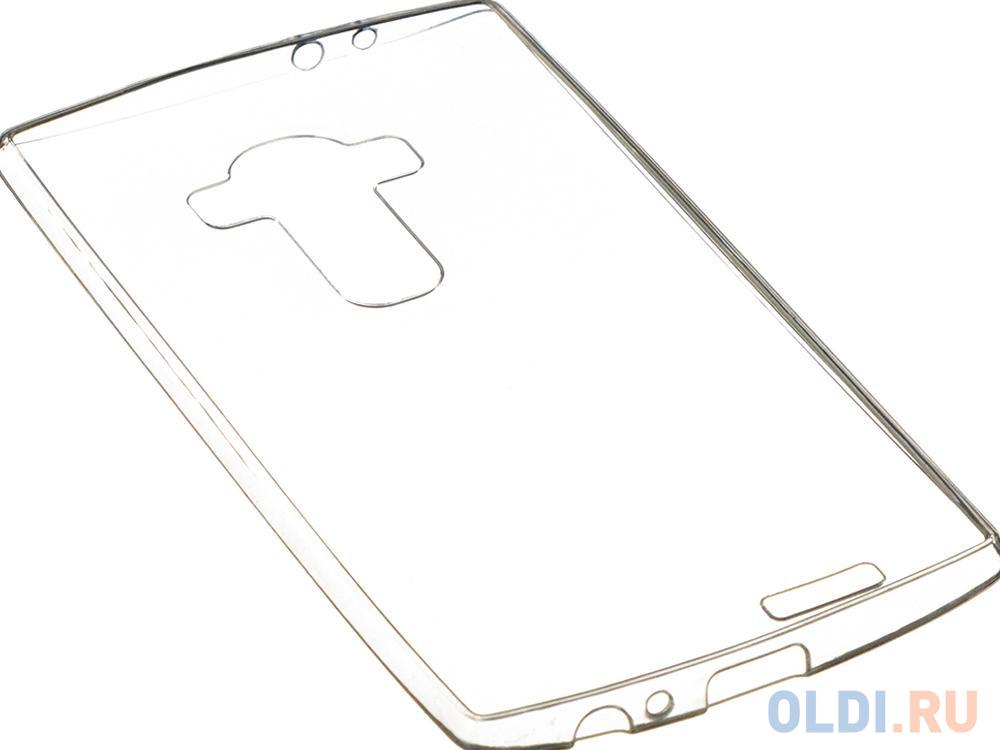 Фото - Чехол силикон iBox Crystal для LG G4 Stylus (прозрачный) чехол книжка lg quick circle для lg g4 оригинальный аксессуар white