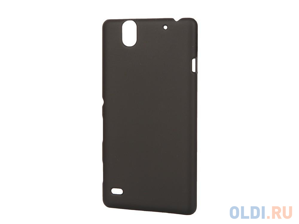 Чехол-накладка Pulsar CLIPCASE PC Soft-Touch для Sony C4 (черная).