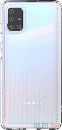 Чехол (клип-кейс) Samsung для Samsung Galaxy A51 araree A cover прозрачный (GP-FPA515KDATR) чехол клип кейс samsung araree a cover для samsung galaxy a51 синий [gp fpa515kdalr]