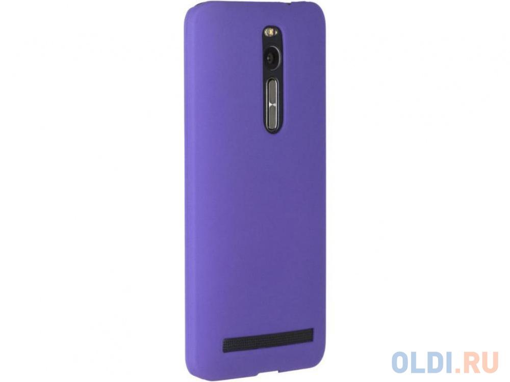 Чехол-накладка Pulsar CLIPCASE PC Soft-Touch для Asus Zenfone 2 ZE500CL 5.0 inch (фиолетовая).