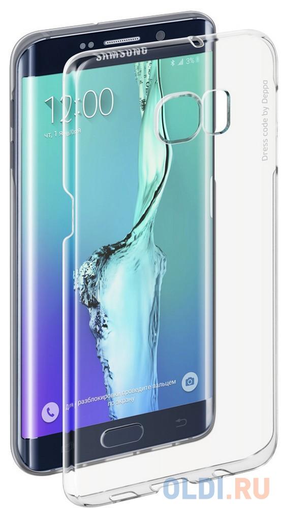 Фото - Чехол Pure Case и защитная пленка для Samsung Galaxy S6 edge+ с защитным нанесением hard coating прозрачный 69012 чехол pure case и защитная пленка для samsung galaxy s6 edge с защитным нанесением hard coating прозрачный 69012