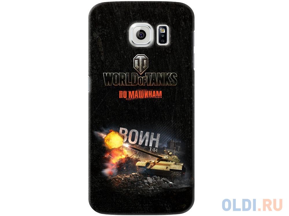 Фото - Чехол Deppa Art Case и защитная пленка для Samsung Galaxy S6, Танки_Воин, чехол deppa art case и защитная пленка для samsung galaxy s6 edge person путин звезда