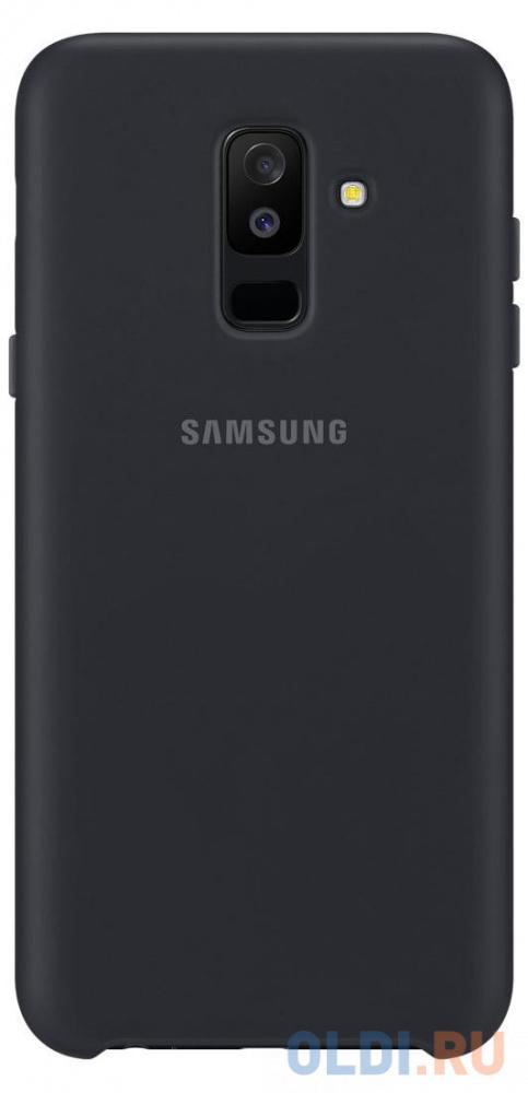 Чехол (клип-кейс) Samsung для Samsung Galaxy A6+ (2018) Dual Layer Cover черный (EF-PA605CBEGRU)