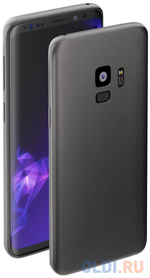Чехол Deppa Case Silk для Samsung Galaxy S9, серый металлик, Deppa чехол deppa silk для samsung galaxy s9 purple