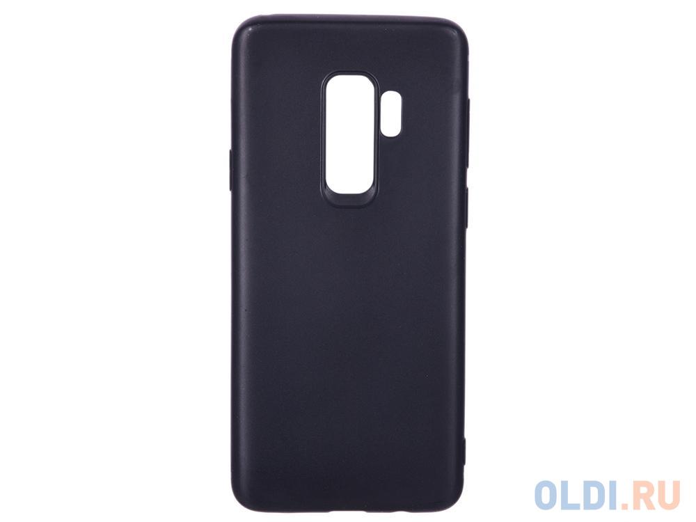 Чехол защитный BoraSCO Mate для Samsung Galaxy S9+, черный матовый