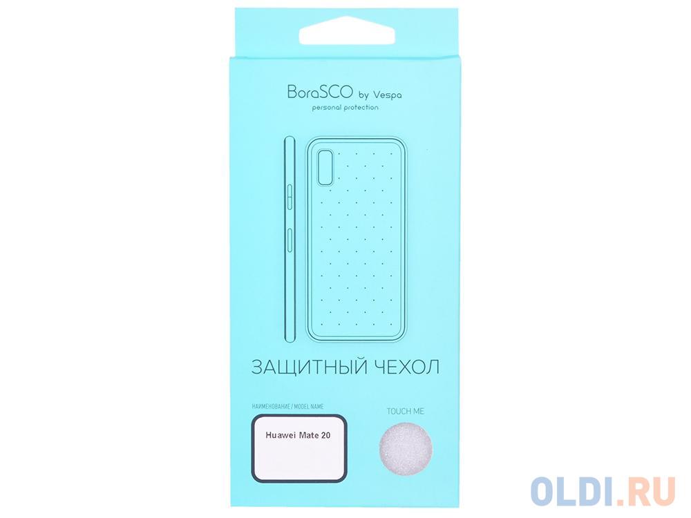 Чехол силиконовый BoraSCO 0,5 мм для Huawei Mate 20 (прозрачный)