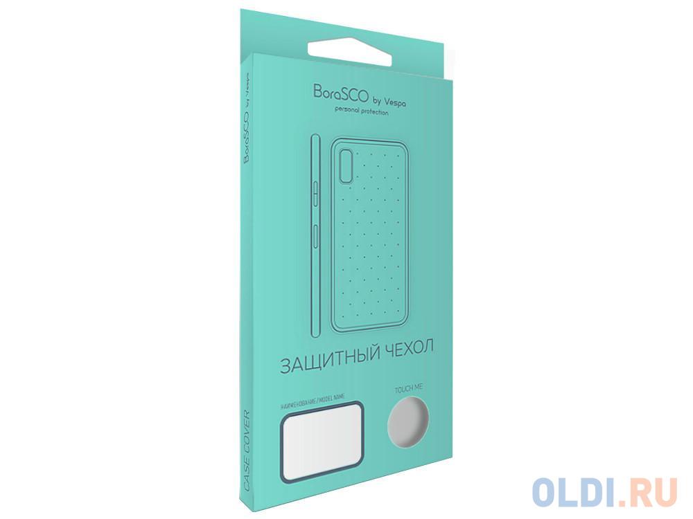 Чехол силиконовый BoraSCO для Samsung Galaxy S8+ (прозрачный)