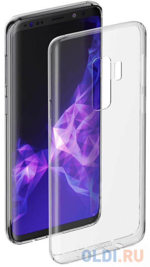 Чехол Deppa Gel Case для Samsung Galaxy S9+ , прозрачный чехол deppa silk для samsung galaxy s9 purple