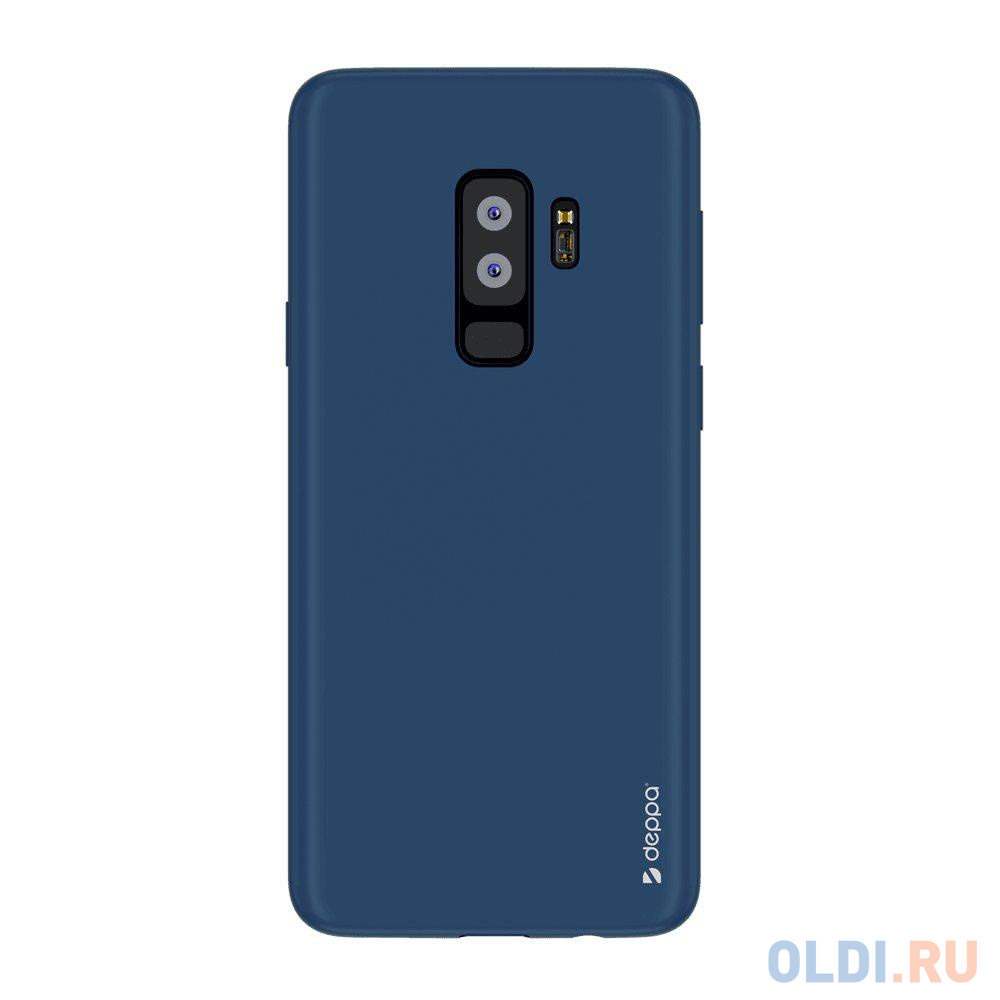 Чехол Deppa Air Case для Samsung Galaxy S9+, синий чехол deppa silk для samsung galaxy s9 purple