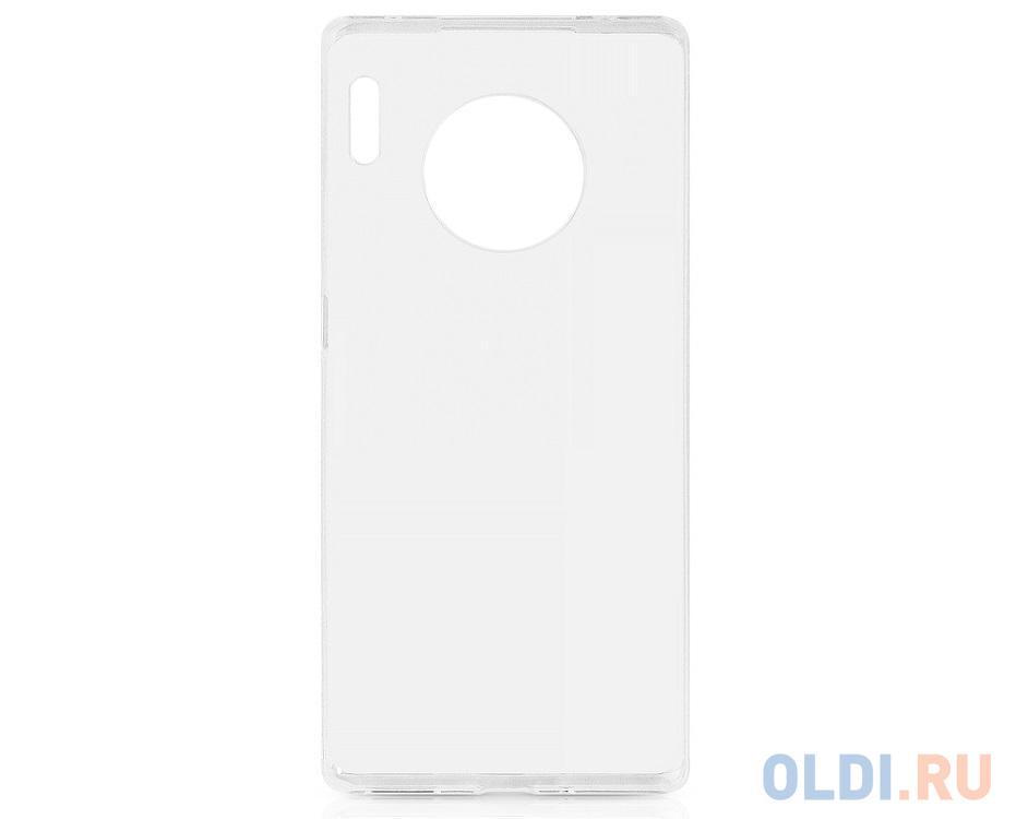 Чехол-накладка для Huawei Mate 30 Pro DF hwCase-85 Transparent клип-кейс, полиуретан