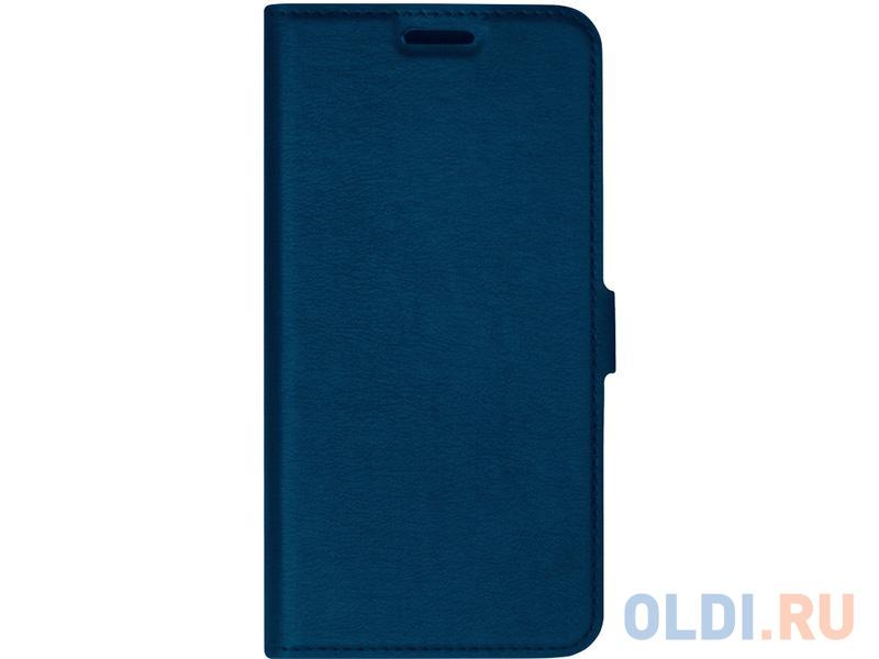 Чехол-книжка для Samsung Galaxy A51 DF sFlip-57 Blue флип, искусственная кожа, полиуретан чехол df для samsung galaxy m51 blue sflip 71