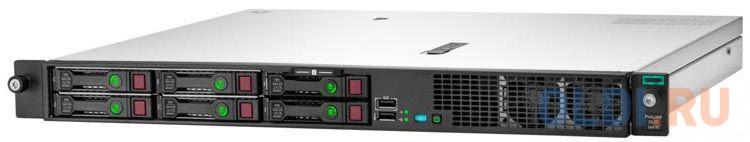 Сервер HPE ProLiant DL20 Gen10 1xE-2224 1x16Gb SFF-4 S100i 1G 2P 1x500W (P17080-B21) сервер hpe proliant dl20 gen10 p17077 b21