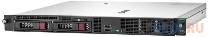 Сервер HPE ProLiant DL20 Gen10 1xE-2224 1x8Gb LFF-2 S100i 1G 2P 1x290W (P17078-B21) сервер hpe proliant dl20 gen10 p17077 b21