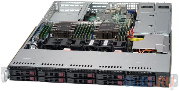 Фото - Сервер Supermicro CSE-116AC2-R706WB2 корпус supermicro cse 116ac2 r706wb 1u