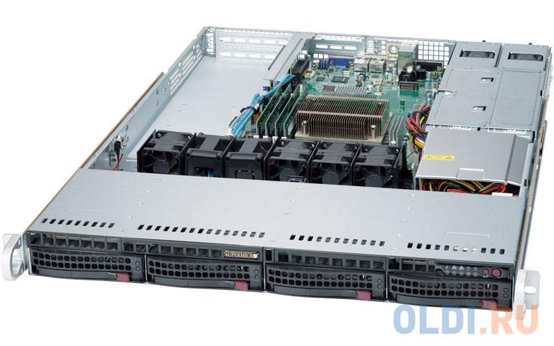 Сервер Supermicro SYS-5019S-WR серверная платформа supermicro sys 5018d fn8t