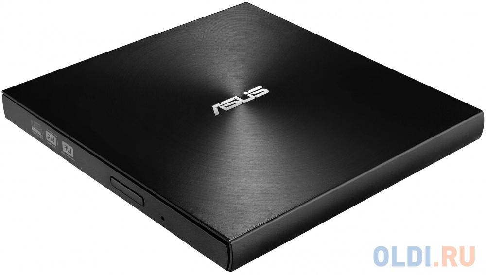 Внешний привод DVD±RW ASUS SDRW-08U9M-U USB 2.0 черный Retail