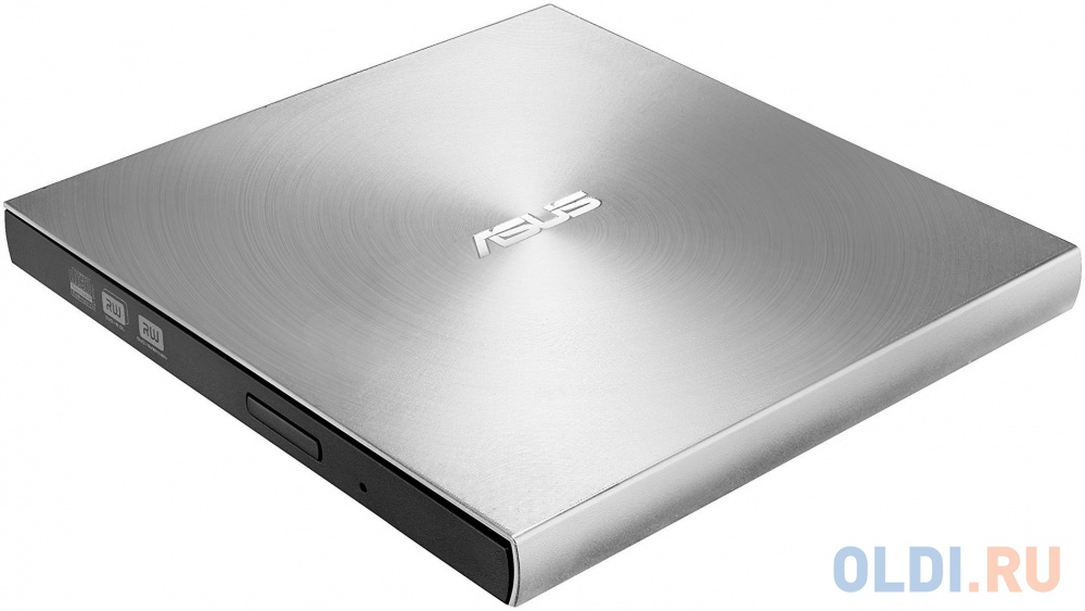 Внешний привод DVD±RW ASUS SDRW-08U7M-U/SIL/G/AS USB 2.0 серебристый Retail