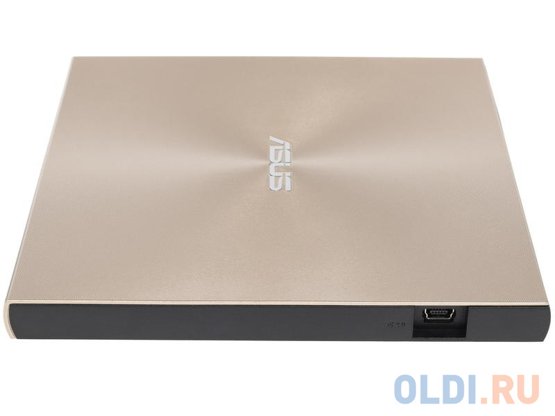 Привод DVD-RW Asus SDRW-08U9M-U золотистый USB slim ultra slim M-Disk Mac внешний RTL