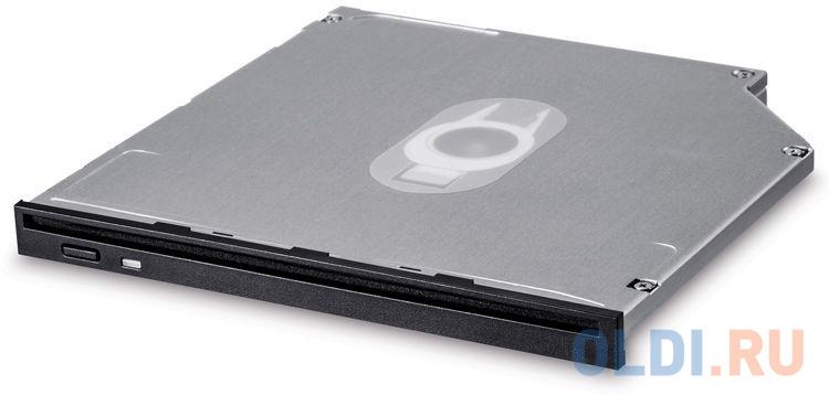 Фото - Привод DVD-RW LG GS40N черный SATA slim внутренний oem привод blu ray lg bh16ns40 черный sata oem