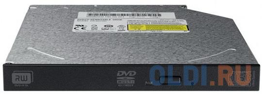 Привод для ноутбука DVD±RW Lite-On DS-8ACSH SATA черный OEM привод для пк dvd±rw lite on ihas122 04 14 18 sata черный oem