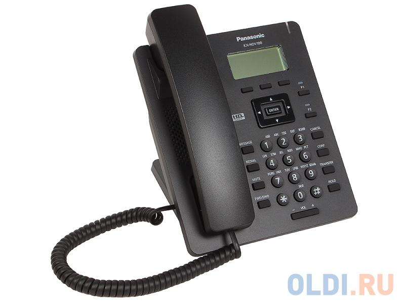 Телефон IP Panasonic KX-HDV100RUB SIP Цифр. IP-телефон, VoIP, Ethernet, Память 500, Звук HD недорого