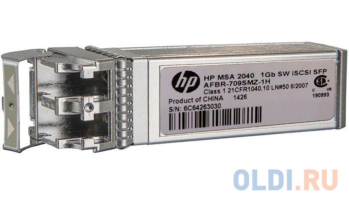 Трансивер HPE MSA 2050 1Gb RJ-45 iSCSI Channel SFP+ 4-Pack (C8S75B)