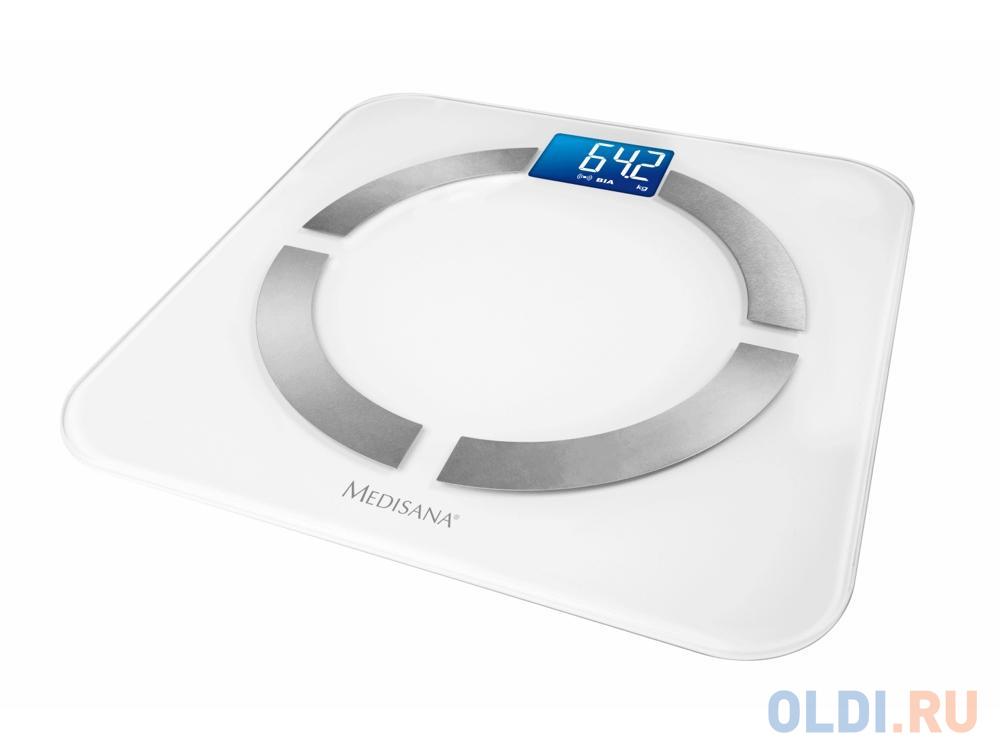 Весы напольные Medisana BS 430 Connect белый 40422