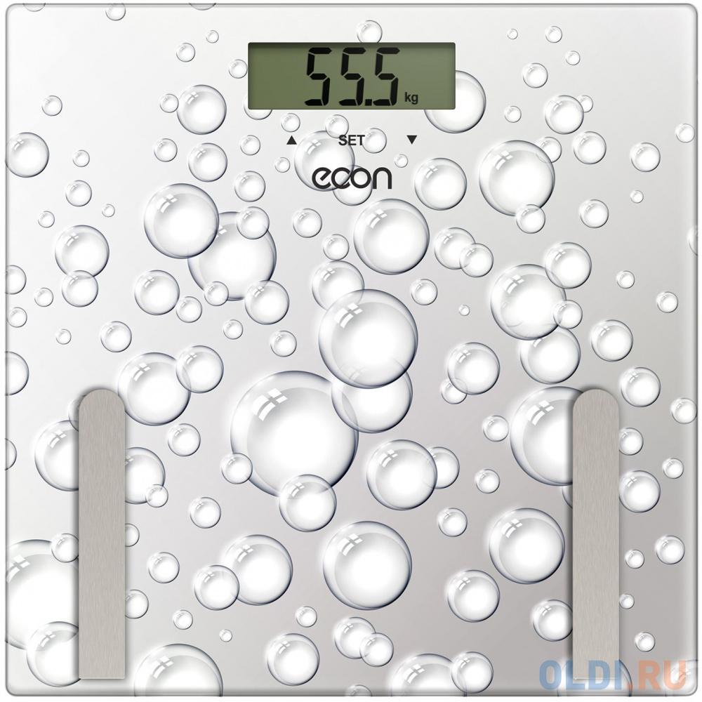 Весы напольные ECON ECO-BS011 серый автоакустика econ ems 620