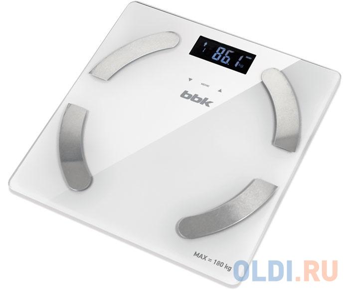 Весы напольные BBK BCS5001GM слоновая кость