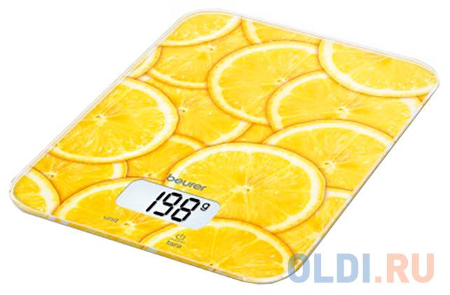 Весы кухонные Beurer KS19 lemon рисунок