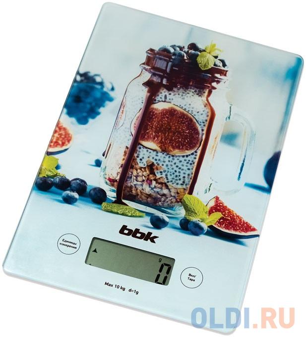 Весы кухонные BBK KS102G рисунок кухонные весы bbk ks102g blue