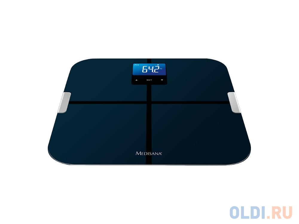 Весы напольные Medisana BS 440 Connect чёрный весы напольные medisana 40470 pss