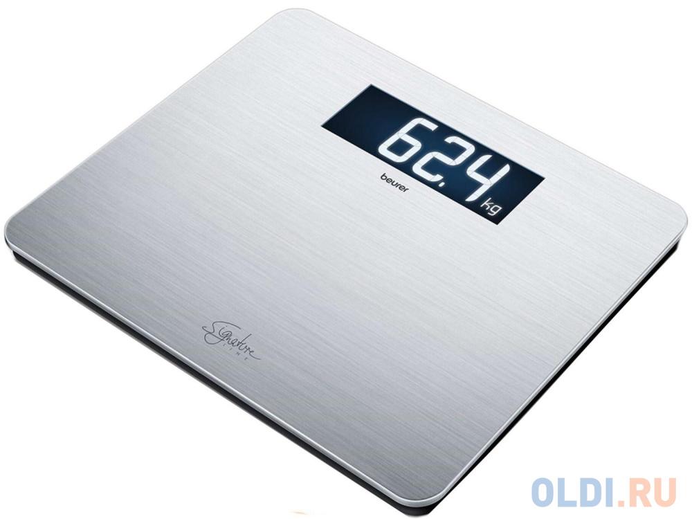 Весы напольные Beurer GS405 серебристый