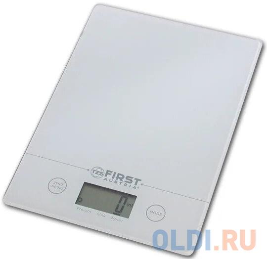 Весы кухонные First FA-6400-WI, электронные, белый недорого