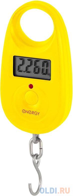 Электронный безмен Energy BEZ-150 жёлтый.