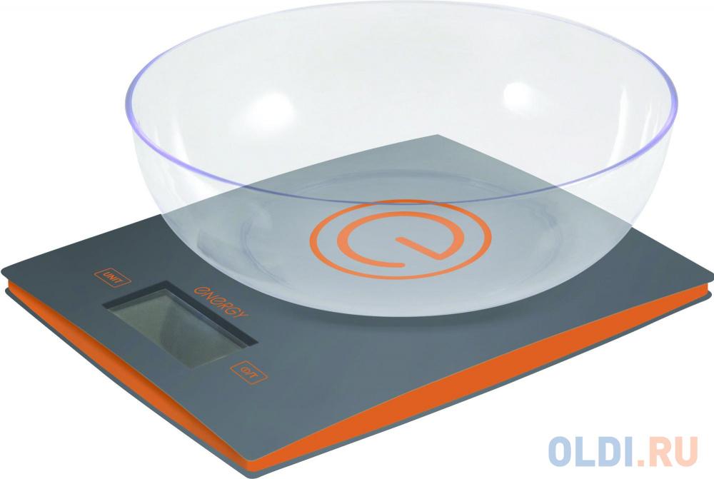 Весы кухонные Energy EN-424 серый.