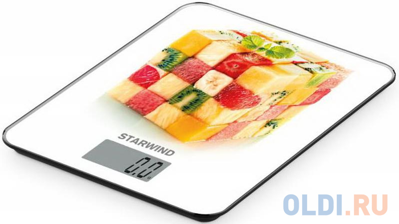 Весы кухонные StarWind SSK3359 рисунок