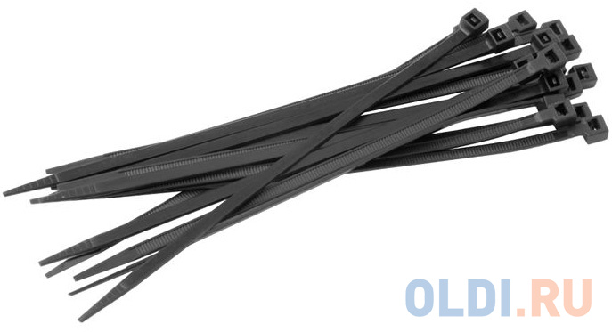Фото - EKF plc-cb-7.2x200 Хомут нейлоновый черный (7,2х200) (100шт.) EKF Basic кабельный хомут ekf plc cb 2 5x200 2 5х200 нейлоновый черный уп 100шт