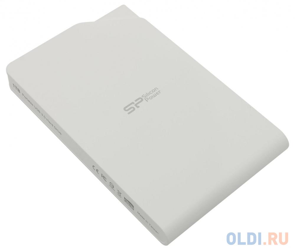 Фото - Внешний жесткий диск Silicon Power Stream S03 SP010TBPHDS03S3W 1Tb внешний жесткий диск hdd silicon power hdd 2 5 1 0tb stream s03 sp010tbphds03s3k