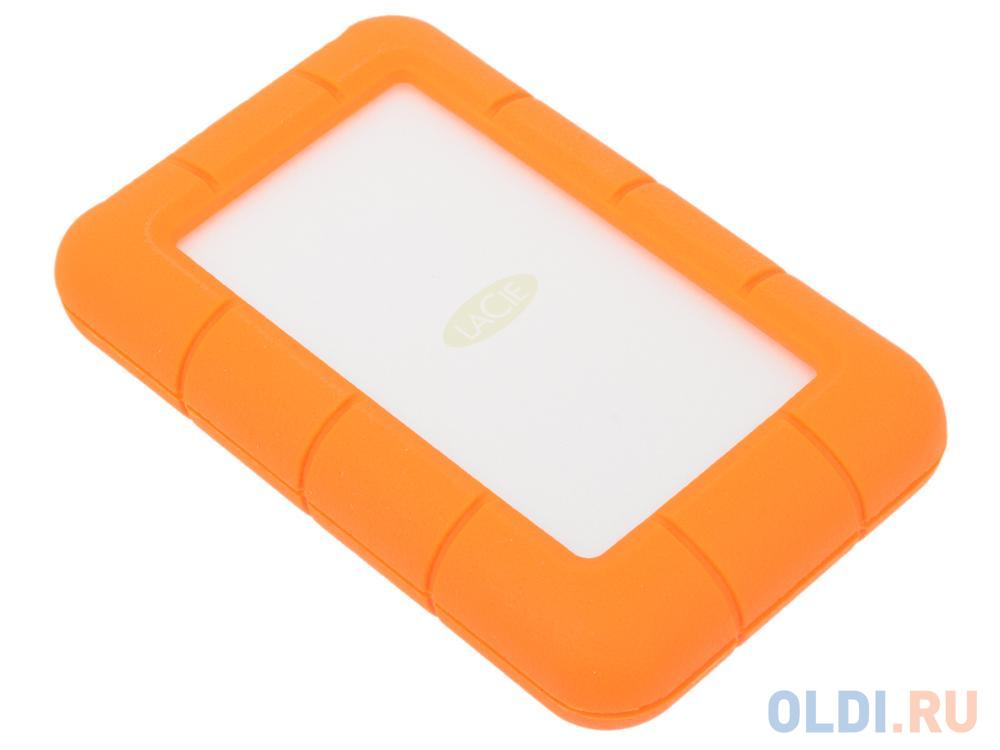 Фото - Внешний жесткий диск 2.5 USB3.0 4Tb Lacie Rugged Mini LAC9000633 бело-оранжевый гуржий а н маленький аквариум isbn 978 5 271 28919 4