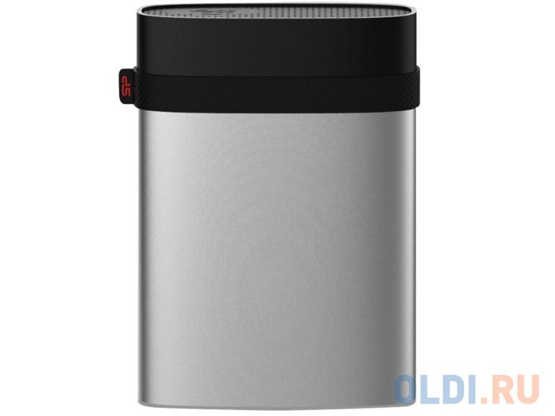 Внешний жесткий диск 2.5 USB3.0 4 Tb Silicon Power A85 Armor SP040TBPHDA85S3S серебристый внешний hdd silicon power armor a85 серебристый sp040tbphda85s3s