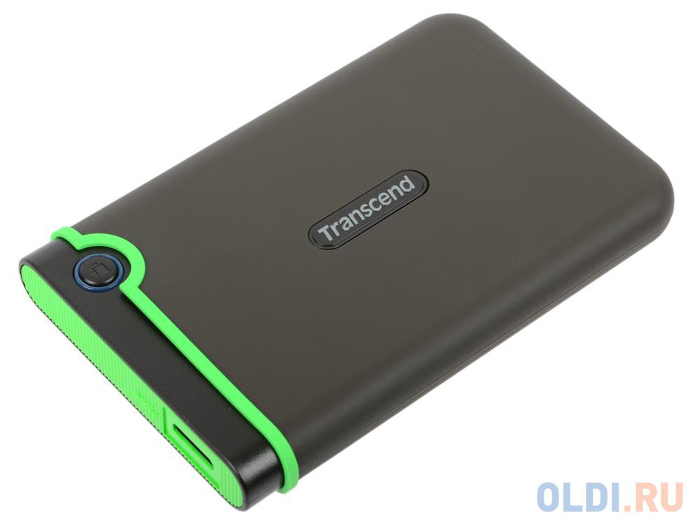 Внешний жесткий диск 1Tb Transcend StoreJet 25M3S серый TS1TSJ25M3S (2.5