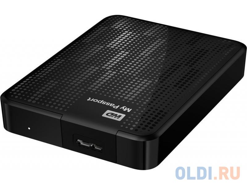 Внешний жесткий диск 1Tb WD Elements Portable WDBMTM0010BBK-EEUE (2.5